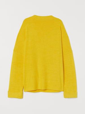 Джемпер жовтий | 5576692