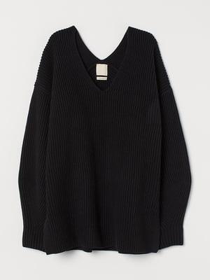 Пуловер черный | 5576707