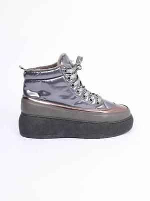 Ботинки никелевого цвета | 5571066