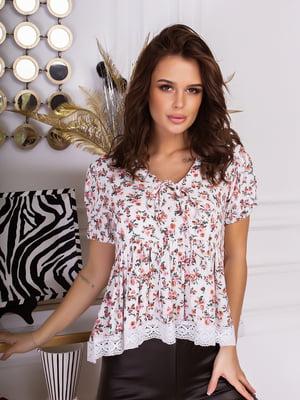 Блуза різнокольорова | 5499618