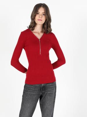 Пуловер красный | 5577528