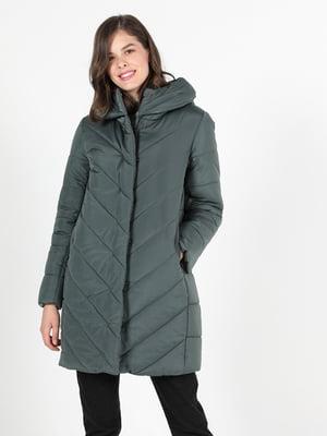 Куртка кольору хакі | 5577535