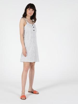 Сукня біла в смужку | 5577568