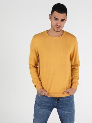 Джемпер горчичного цвета | 5577576