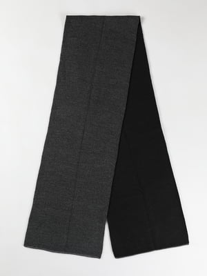 Шарф темно-серый | 5577589