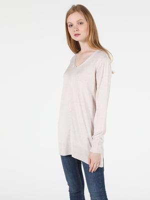 Пуловер бежевый | 5577655