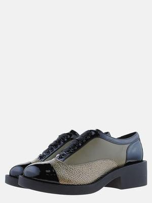 Туфлі триколірні | 5561217