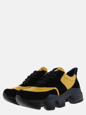 Кроссовки черно-желтые | 5562851