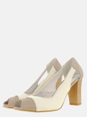 Туфлі двоколірні | 5566131