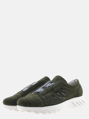 Кросівки зелені | 5566147