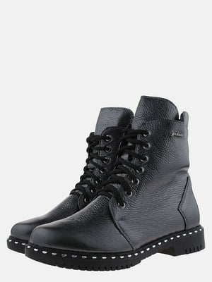 Ботинки темно-стального цвета | 5576111