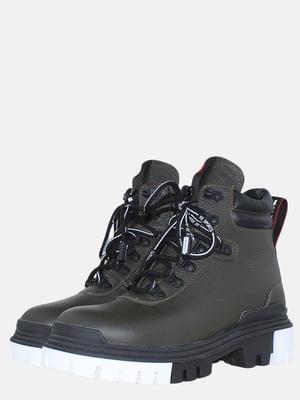 Ботинки цвета хаки | 5576157