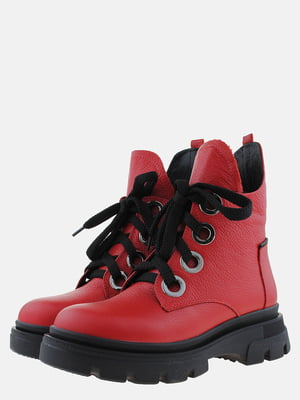 Ботинки красные | 5571012