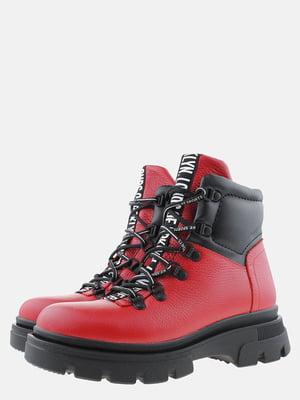 Ботинки красные | 5571014