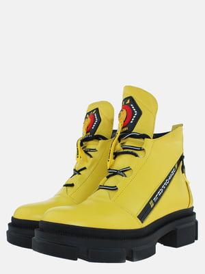 Ботинки желтые | 5576138