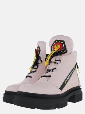 Ботинки пудровые | 5576142