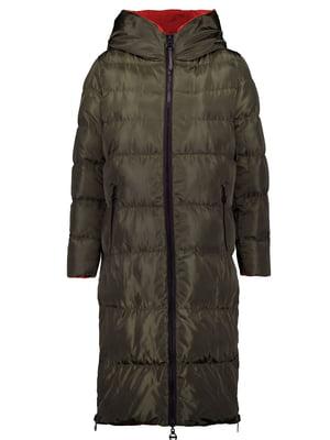 Пальто оливковое | 5577915