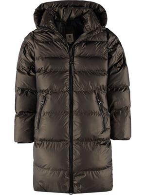 Пальто серо-коричневое | 5577917