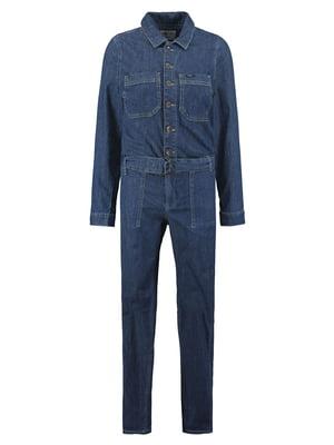 Комбинезон синий джинсовый | 5577921