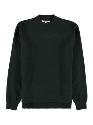 Джемпер темно-зелений | 5577957