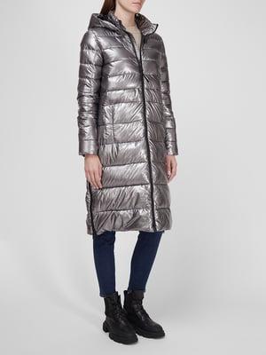 Пальто серебристая | 5576071
