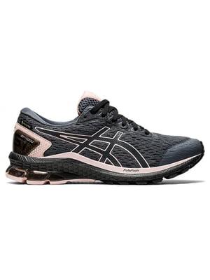 Кросівки сірі з принтом | 5576239