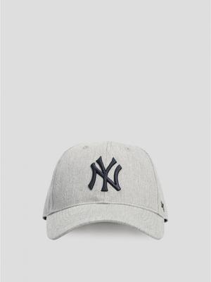 Бейсболка светло-серая | 5576260