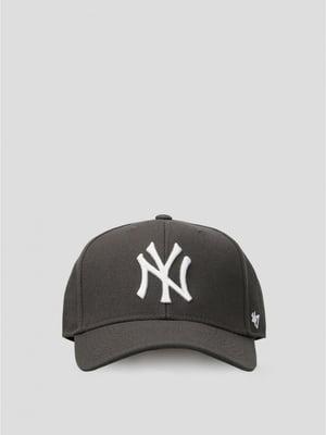 Бейсболка серая | 5576264