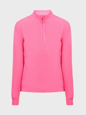 Джемпер розовый флисовый | 5576290