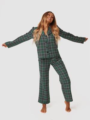 Костюм домашній фланелевий: сорочка і штани | 5578035