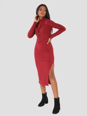 Платье сливового цвета | 5578675