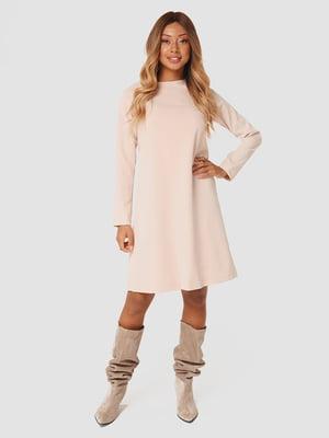 Платье светло-бежевое | 5578684