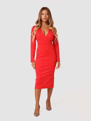 Платье красное | 5578689