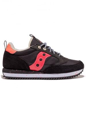 Кросівки чорно-малинового кольору JAZZ PEAK 70512-4s | 5575996