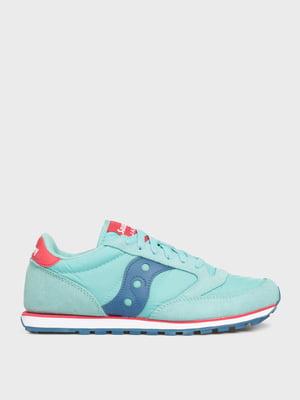 Кроссовки голубые JAZZ LOW PRO 1866-313s   5575998