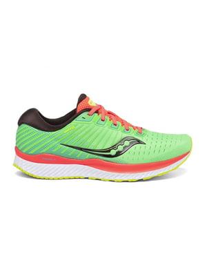 Кросівки для бігу салатового кольору GUIDE 13 20548-10s | 5576200