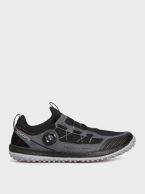 Кросівки для бігу чорно-сизого кольору | 5576208