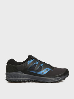 Кроссовки для бега черно-синие | 5576253