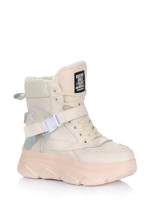 Ботинки бежевые | 5578994