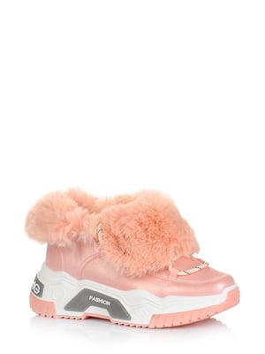 Ботинки розовые | 5579011