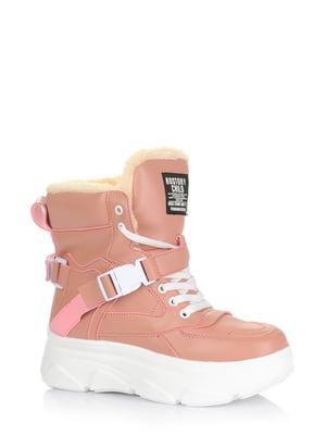 Ботинки розовые | 5579012