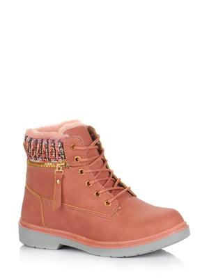 Ботинки розовые | 5579015