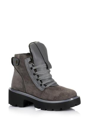 Ботинки серые | 5579021