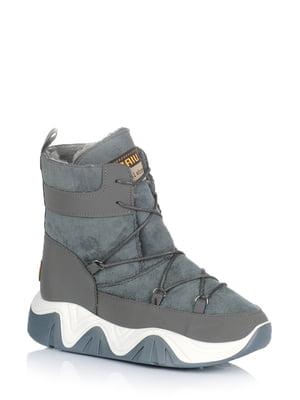 Ботинки серые | 5579024