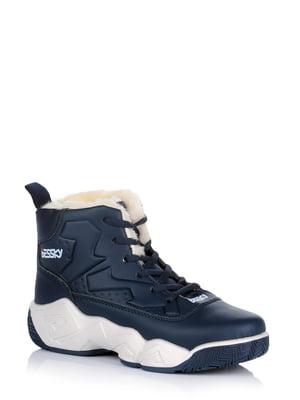 Ботинки синие | 5579026