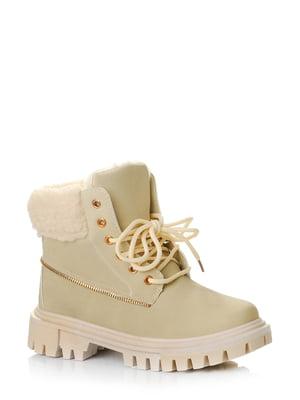 Ботинки бежевые | 5579019