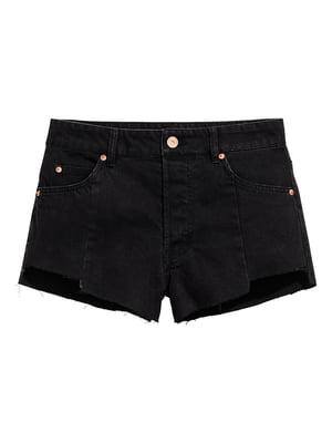 Шорты джинсовые черные   5579052
