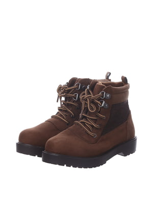 Черевики коричневі | 5579457