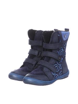 Черевики сині | 5579481