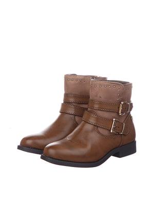 Черевики коричневі | 5579501